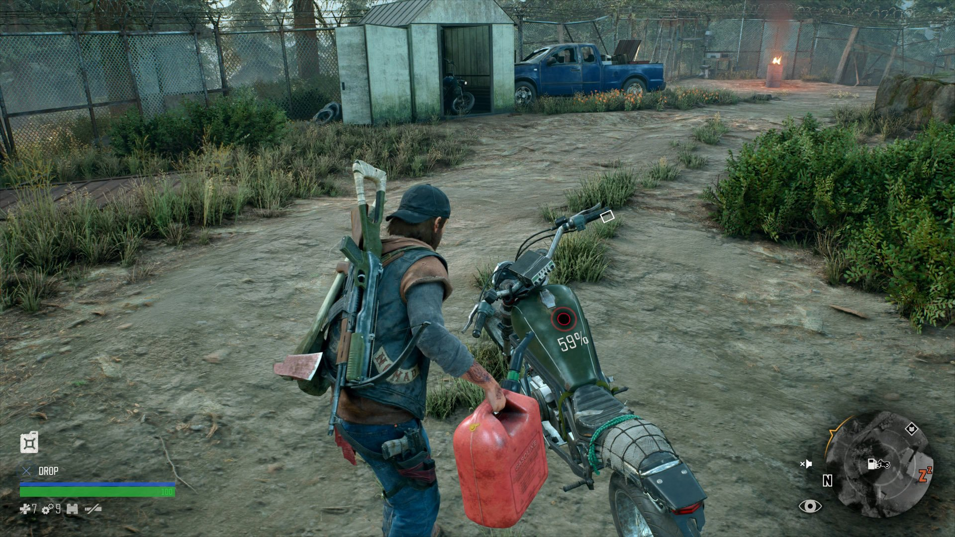 How to Refuel the Bike in Days Gone