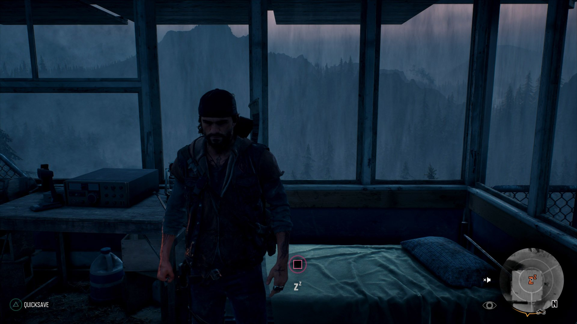How to Sleep and Pass Time in Days Gone