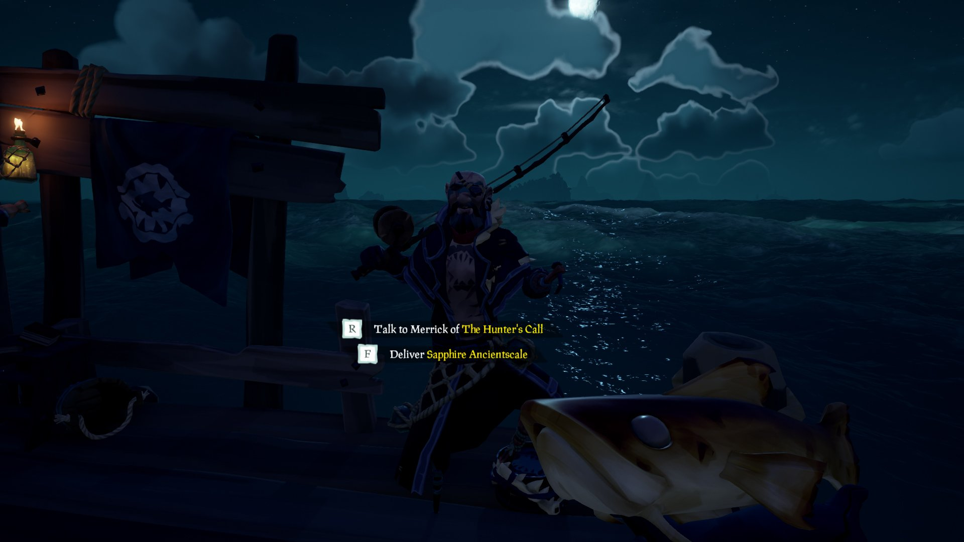 sell fish sea of thieves