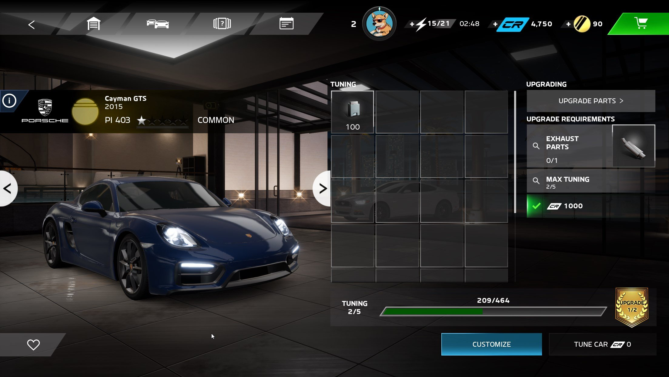 How to tune and customize your car in Forza Street