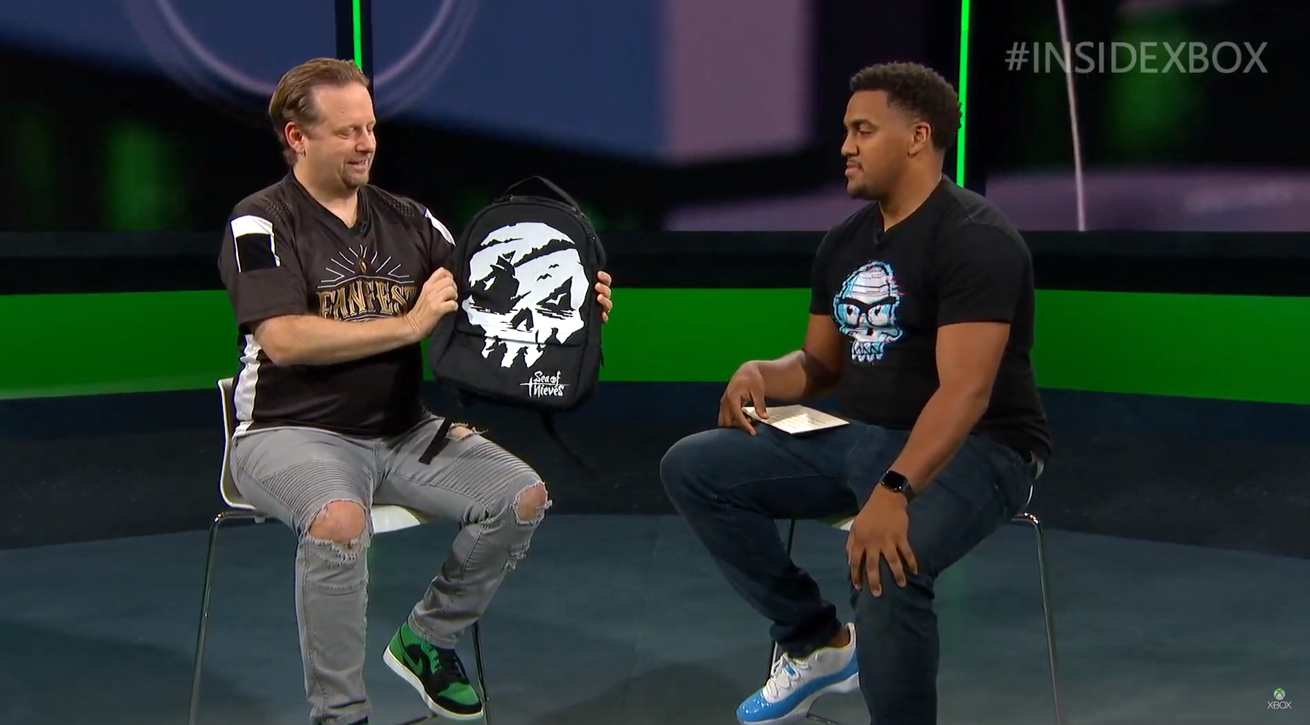 Check out the Sea of Thieves Secret backpack for Xbox FanFest 2019
