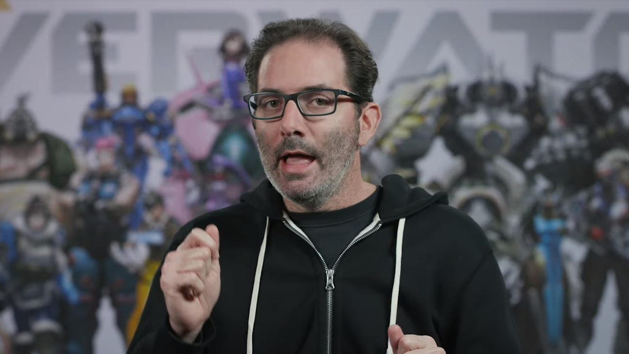 Overwatch's Jeff Kaplan would probably look better in a Shacknews hoodie.