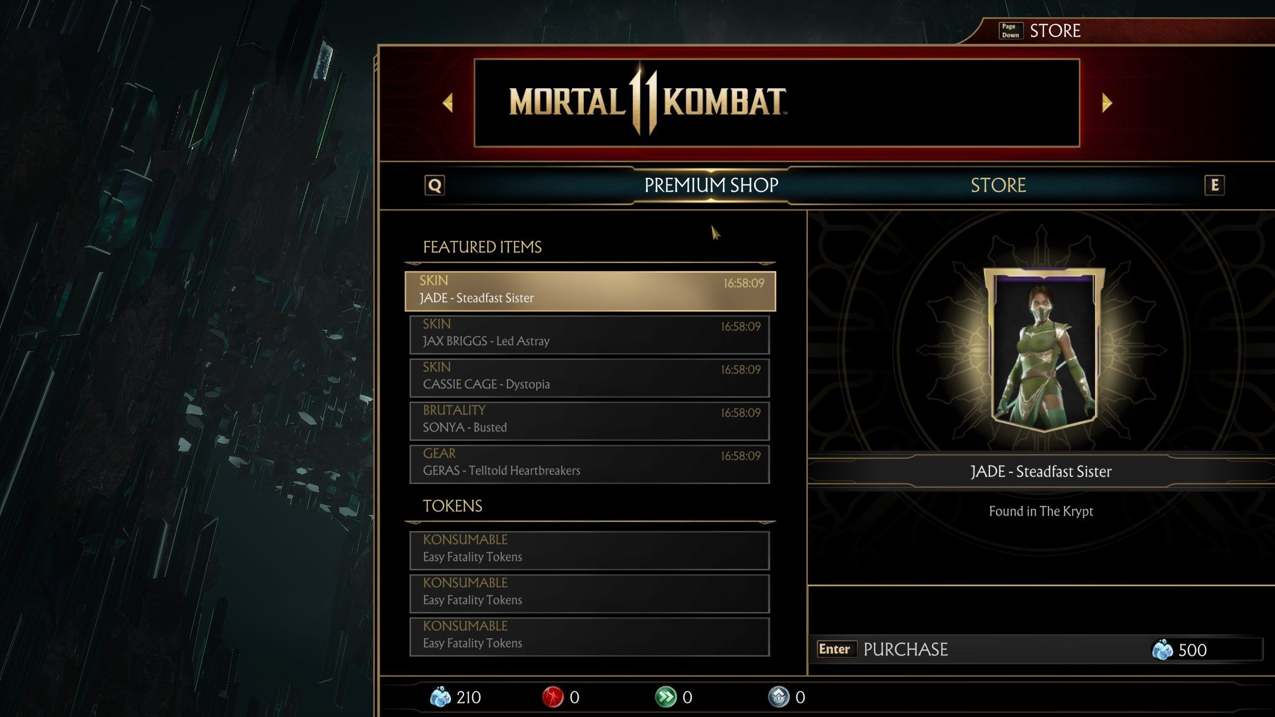 How to get more Time Krystals quickly in Mortal Kombat 11
