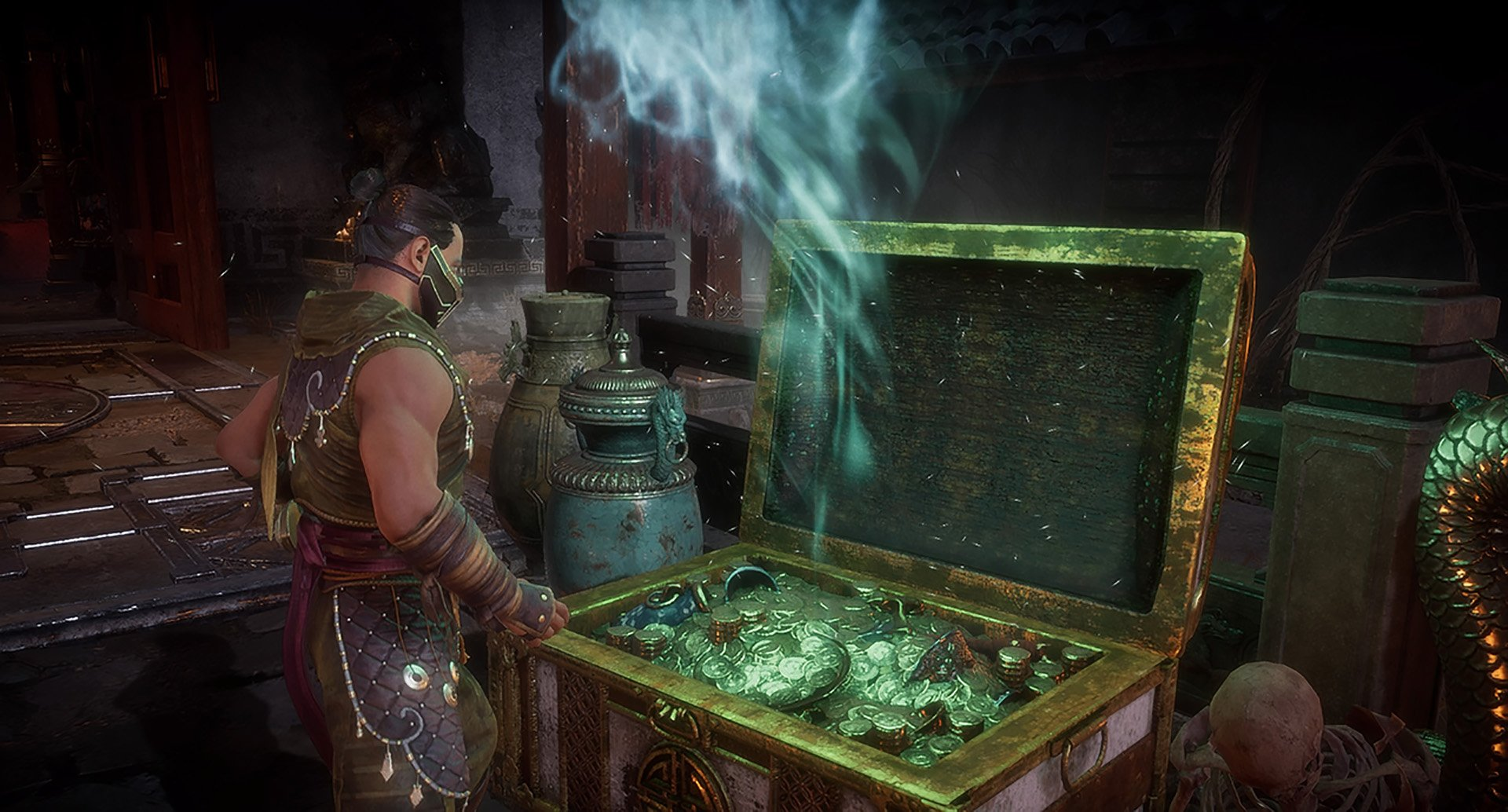 How to open flaming chests in the Mortal Kombat 11 Krypt | Shacknews