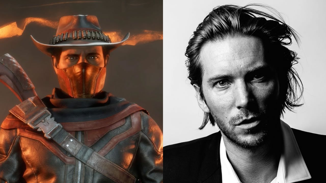 Troy Baker voices Erron Black and Shinnok