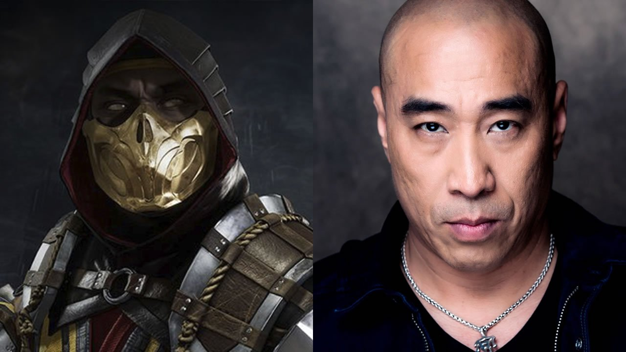 Ron Yuan voices Scorpion