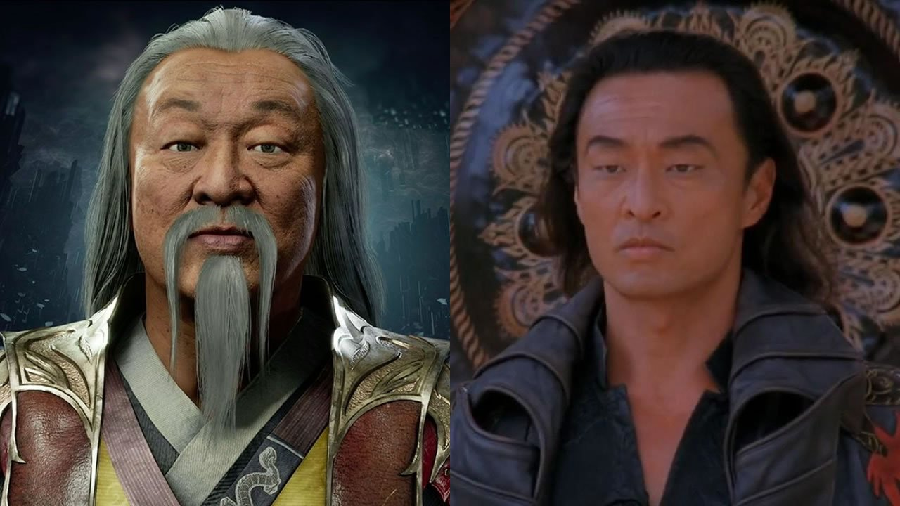 Cary Tagawa voices Shang Tsung