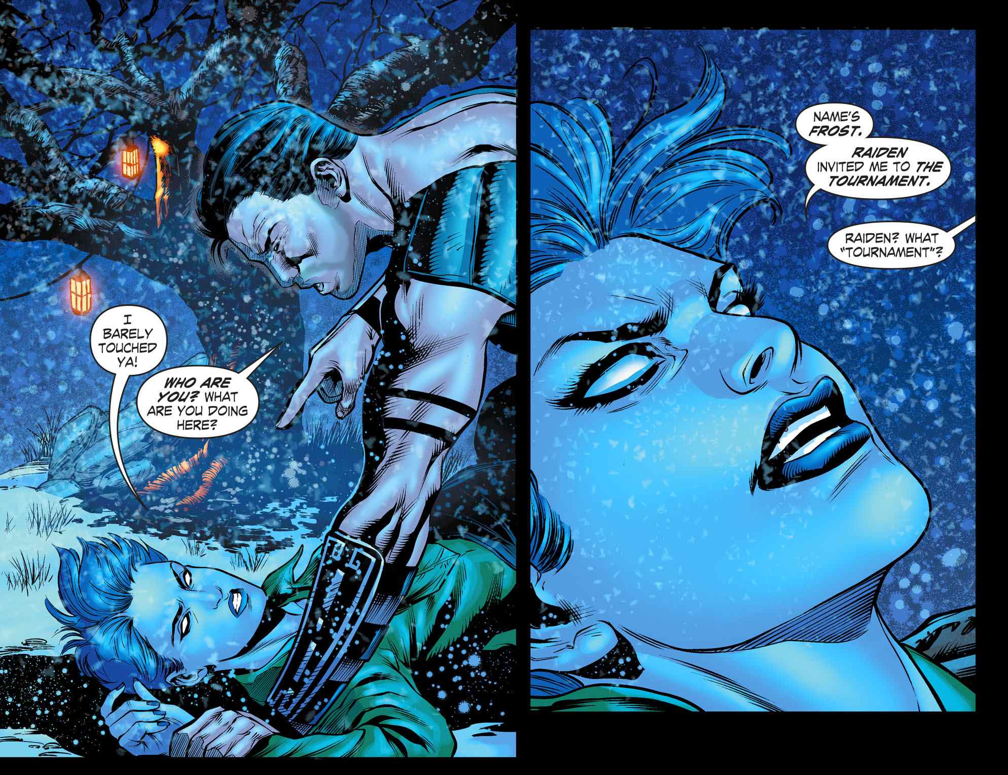 Frost also appeared in the Mortal Kombat X comics.