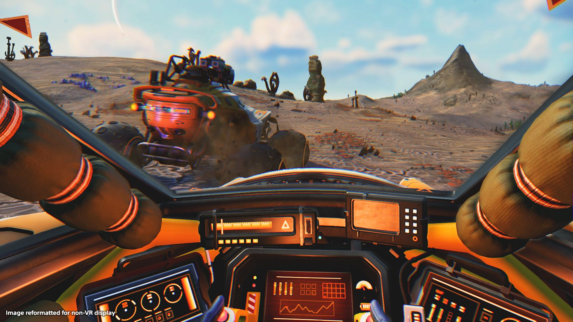 No Man's Sky Beyond VR Driving screenshot