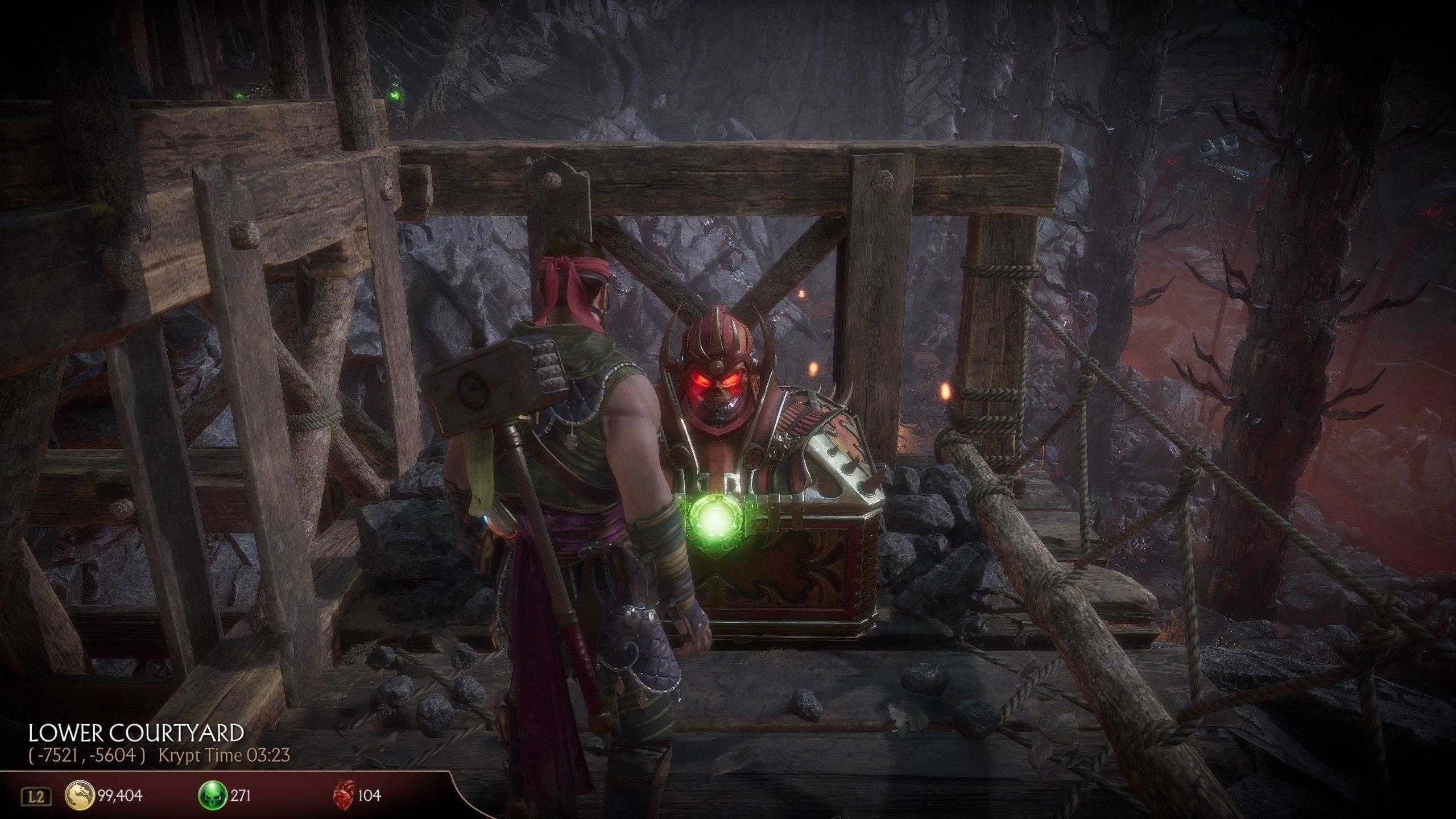 How to open Red Helmet Chests in Mortal Kombat 11's Krypt