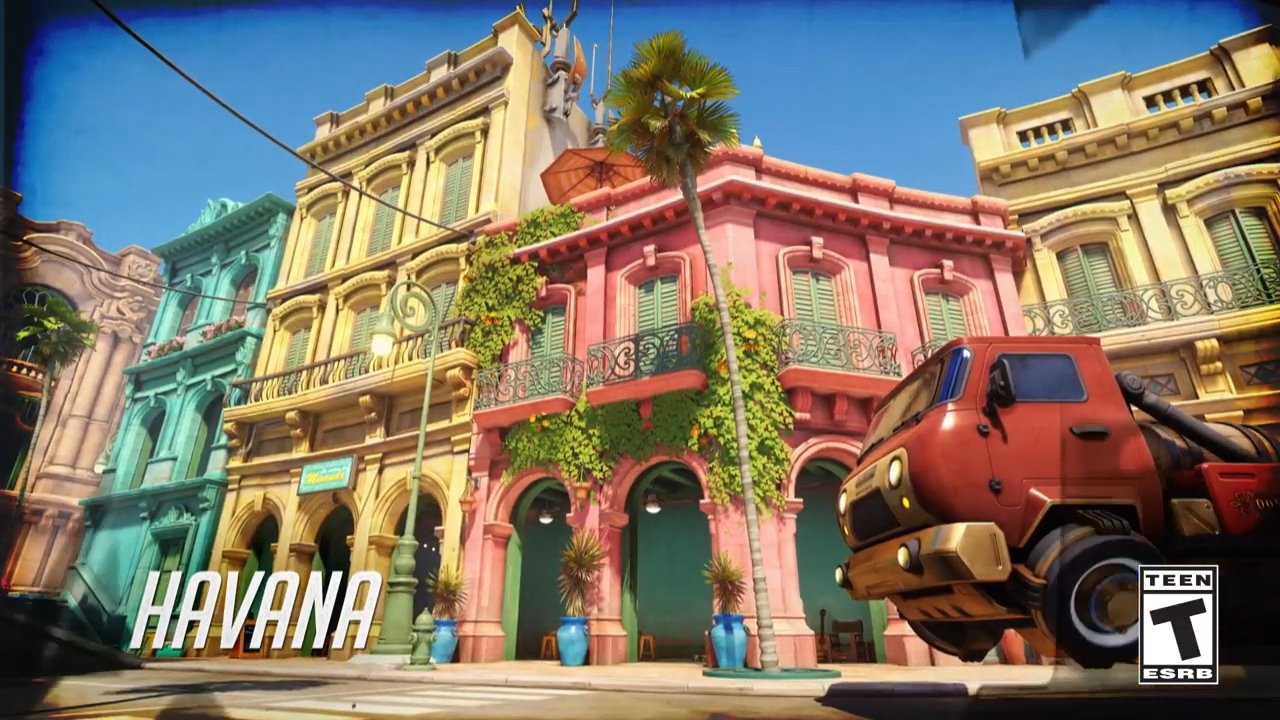 Overwatch April 18 PTR update patch notes add Havana map