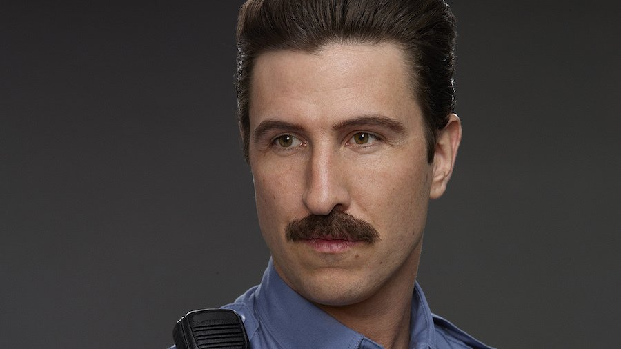 Pablo Schreiber as Pornstache from Orange is the New Black