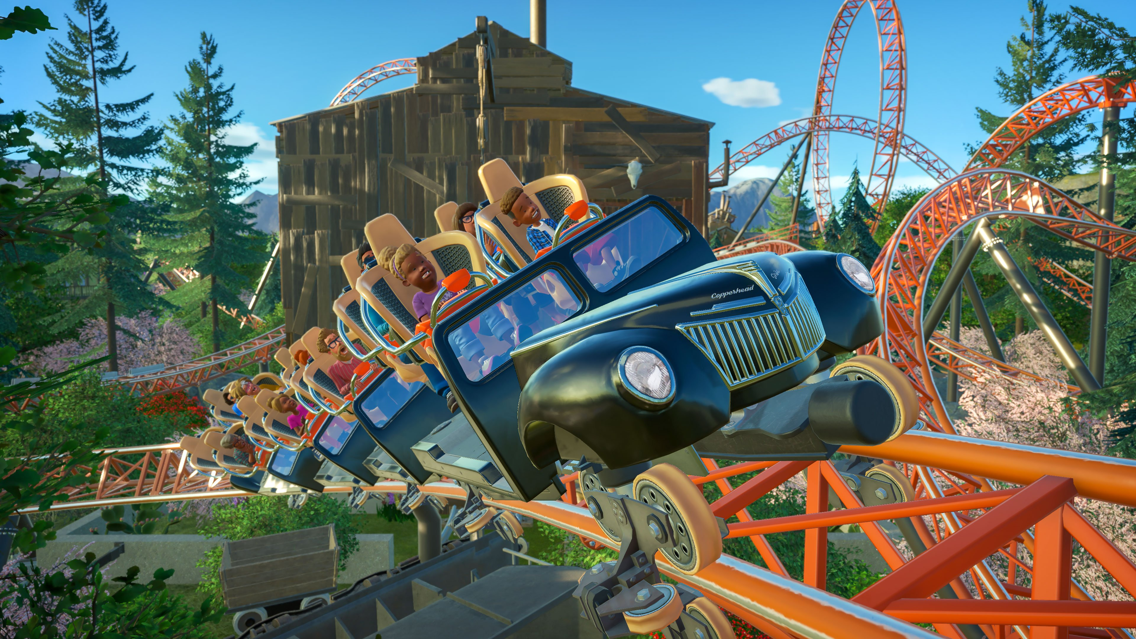 Planet Coaster - Copperhead Strike
