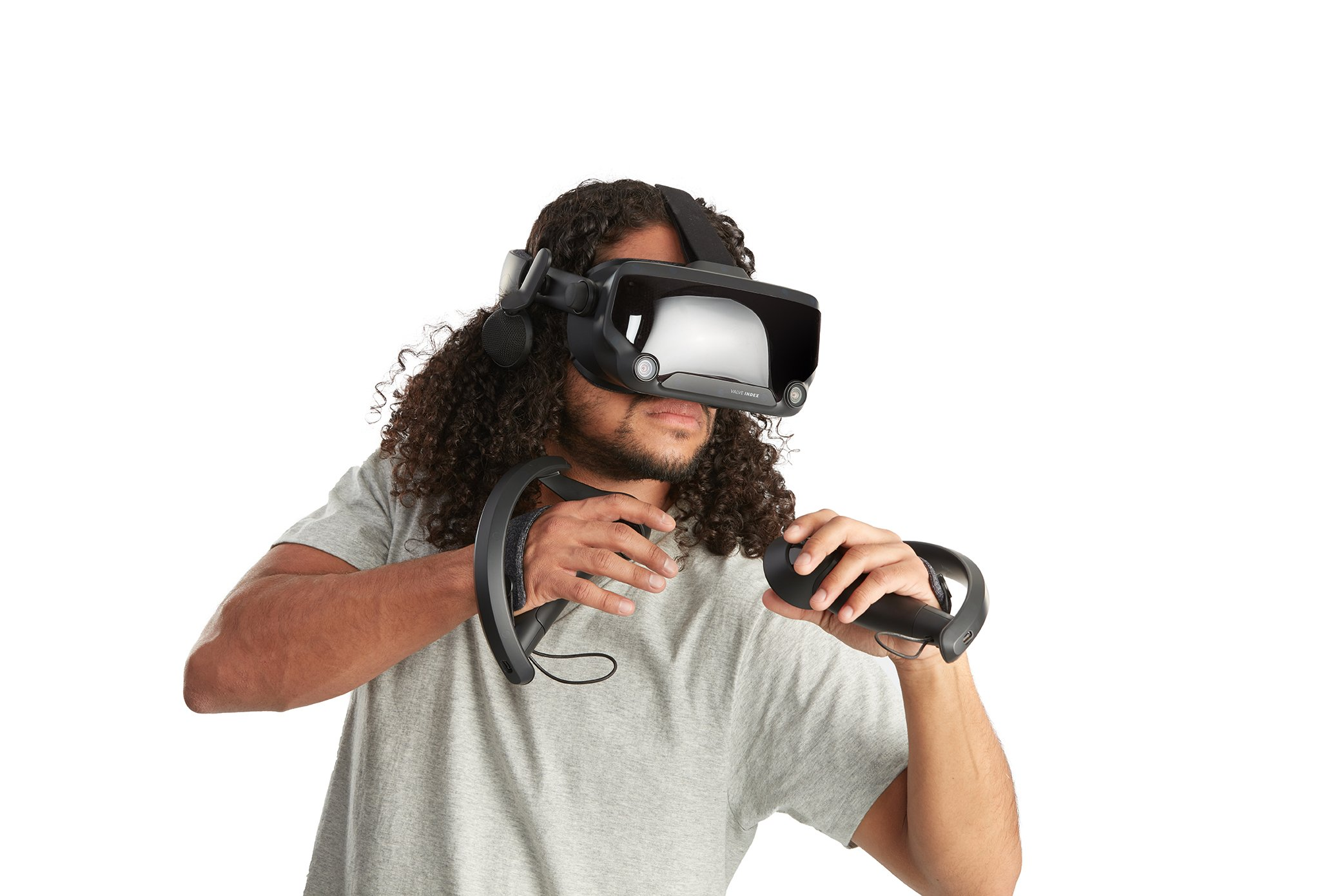 Valve Index Knuckles controllers will allow for some of the best hand and finger presence ever experienced in VR.