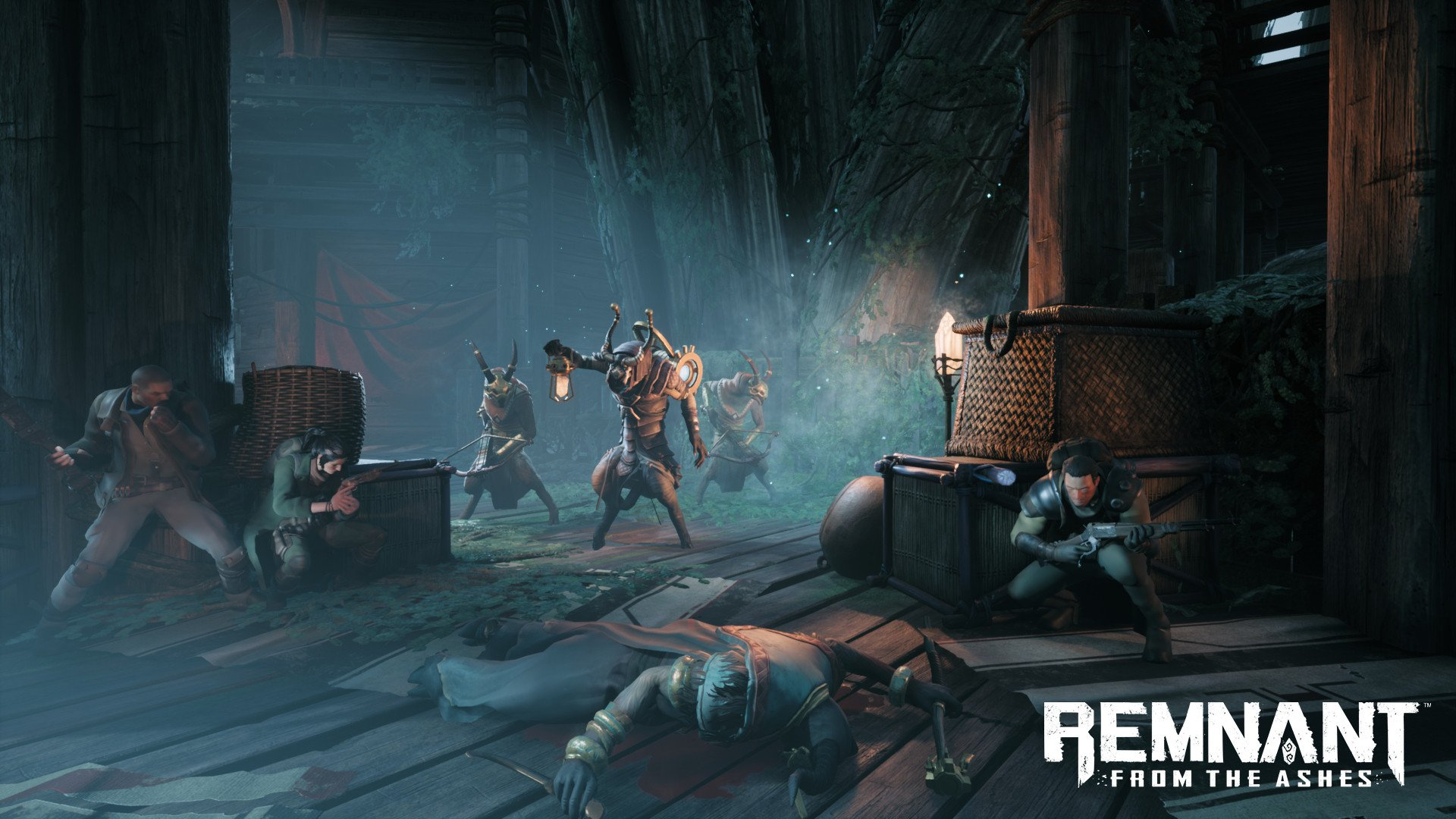 Remnant: From the Ashes screenshot demonic combat