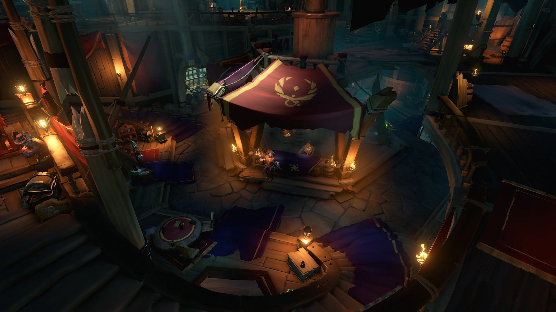 Sea of Thieves The Arena the tavern