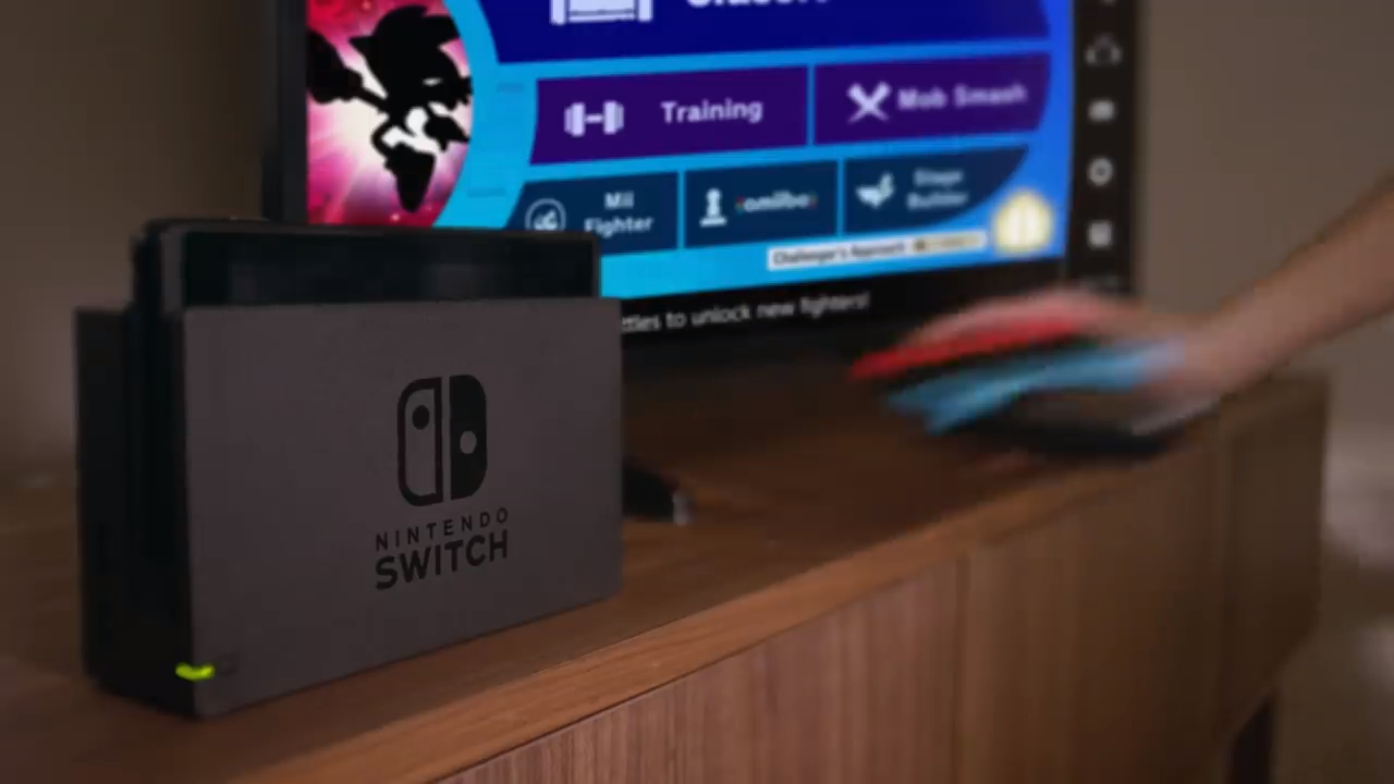 The menu option on the Super Smash Bros. Ultimate screen.