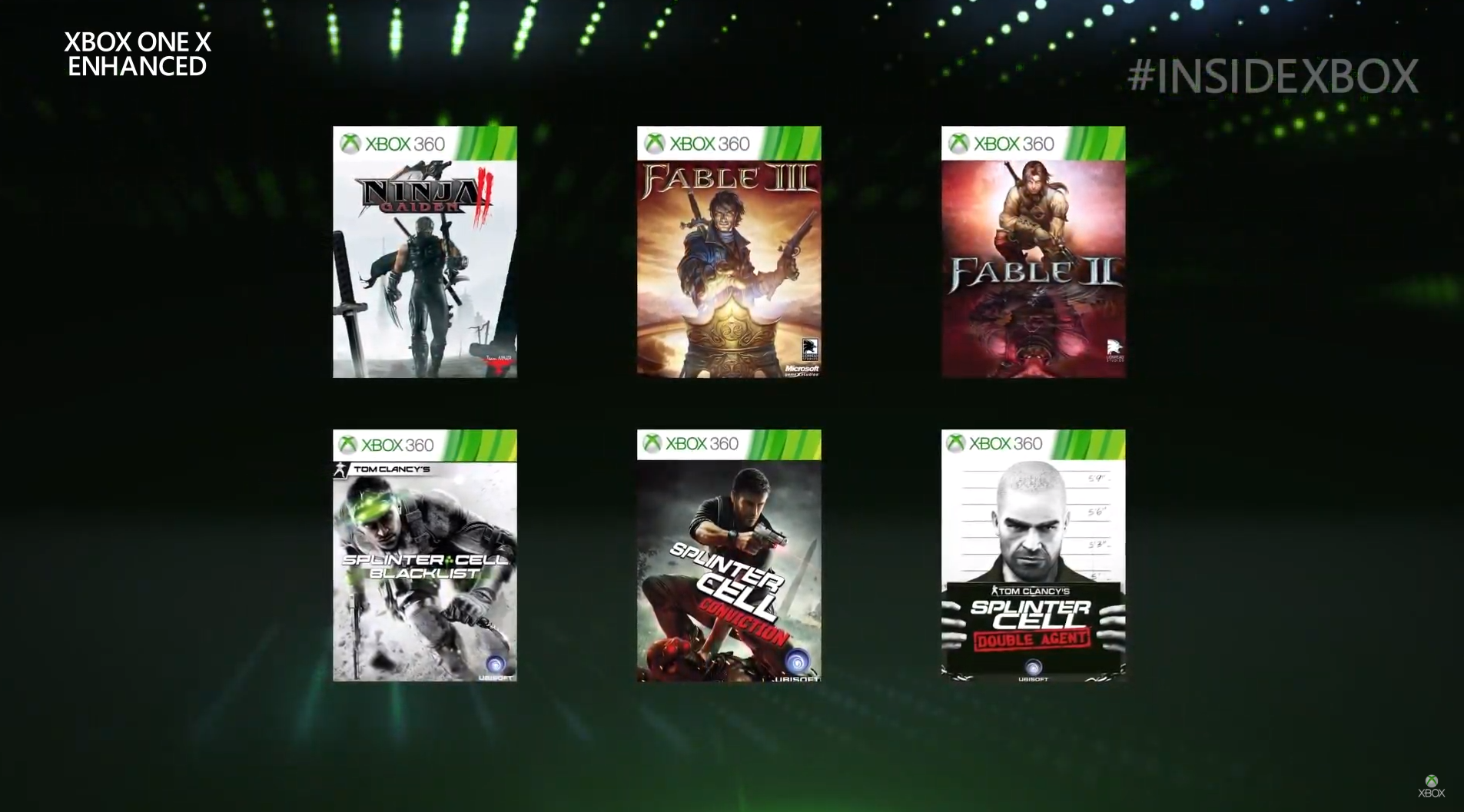 Fable & Splinter Cell games get Xbox One X Enhanced support
