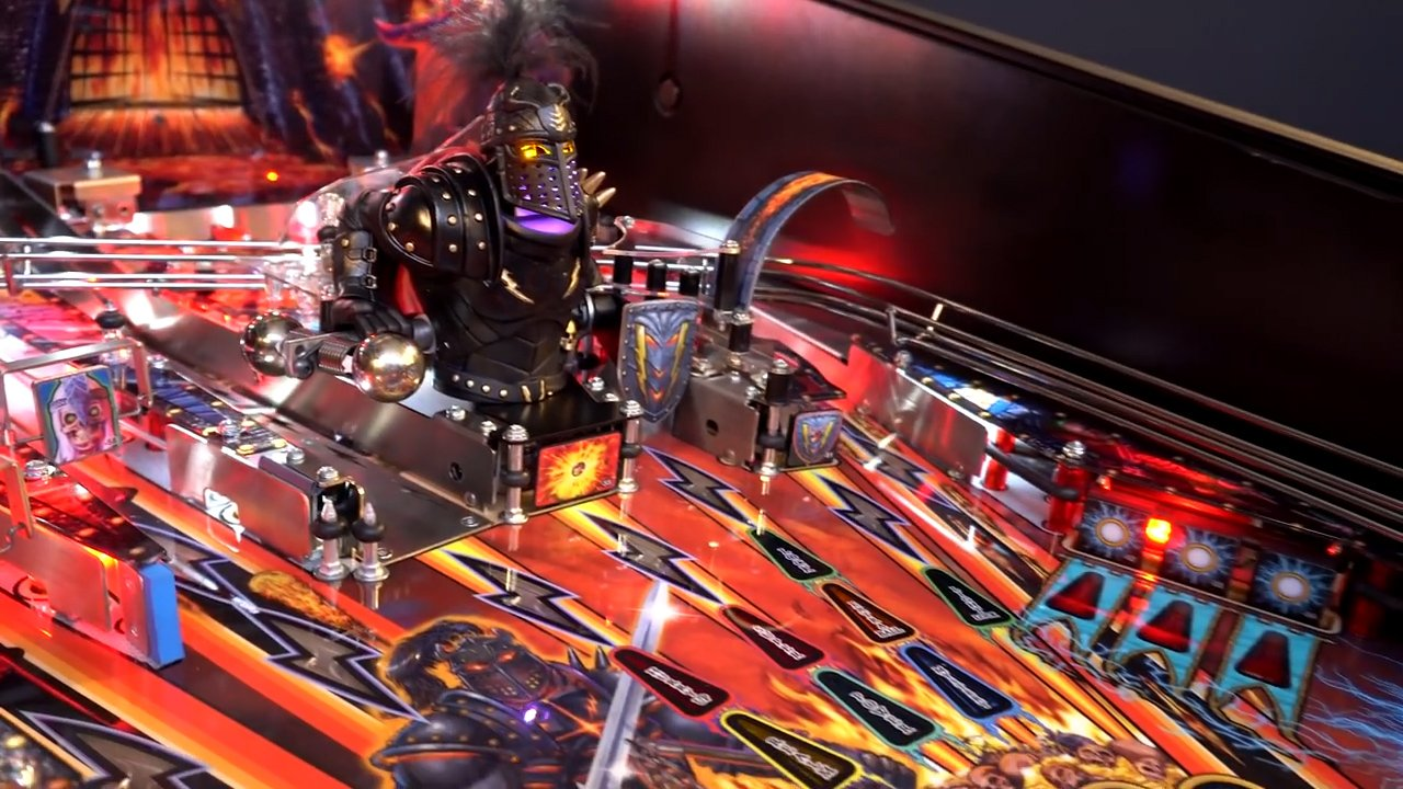 Black Knight: Sword of Rage announced by Stern Pinball