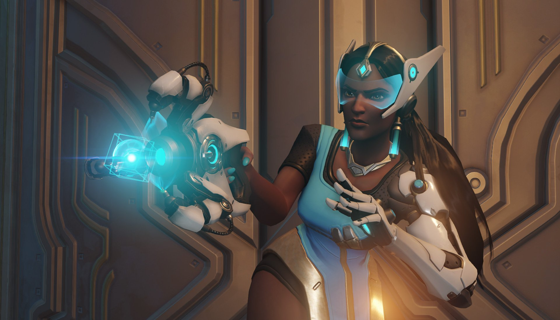 Symmetra's triangle box thing is on point.