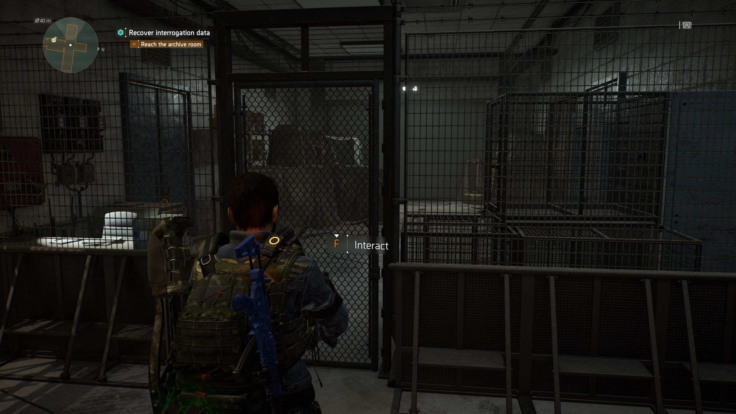 Where to use the American History Museum Basement Key in The Division 2