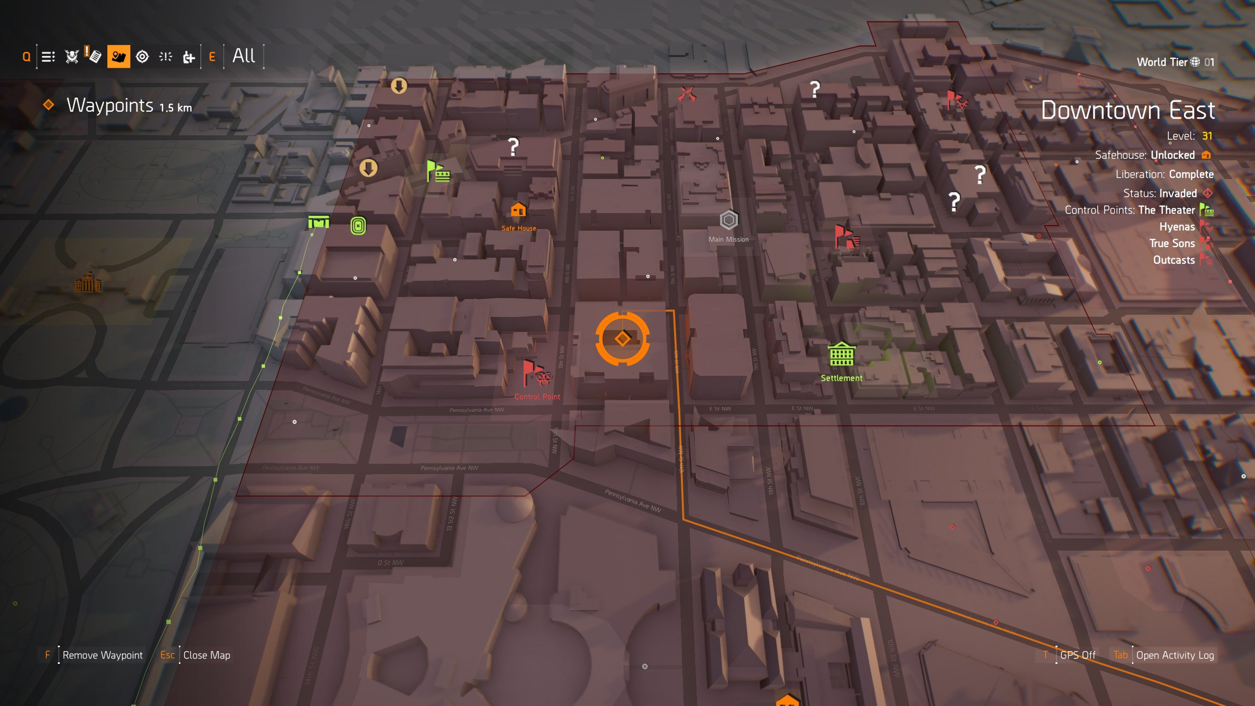 Demon Mask location in The Division 2