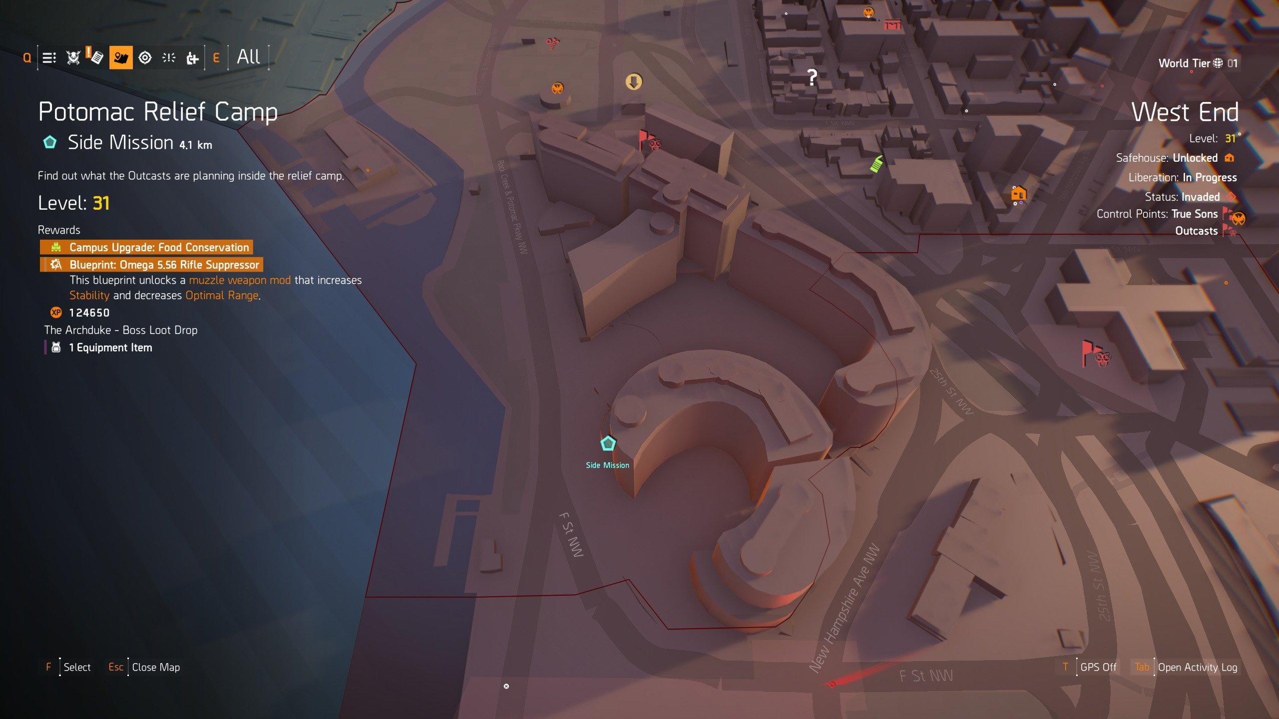 Midas and Revenant Hunter Mask locations in The Division 2