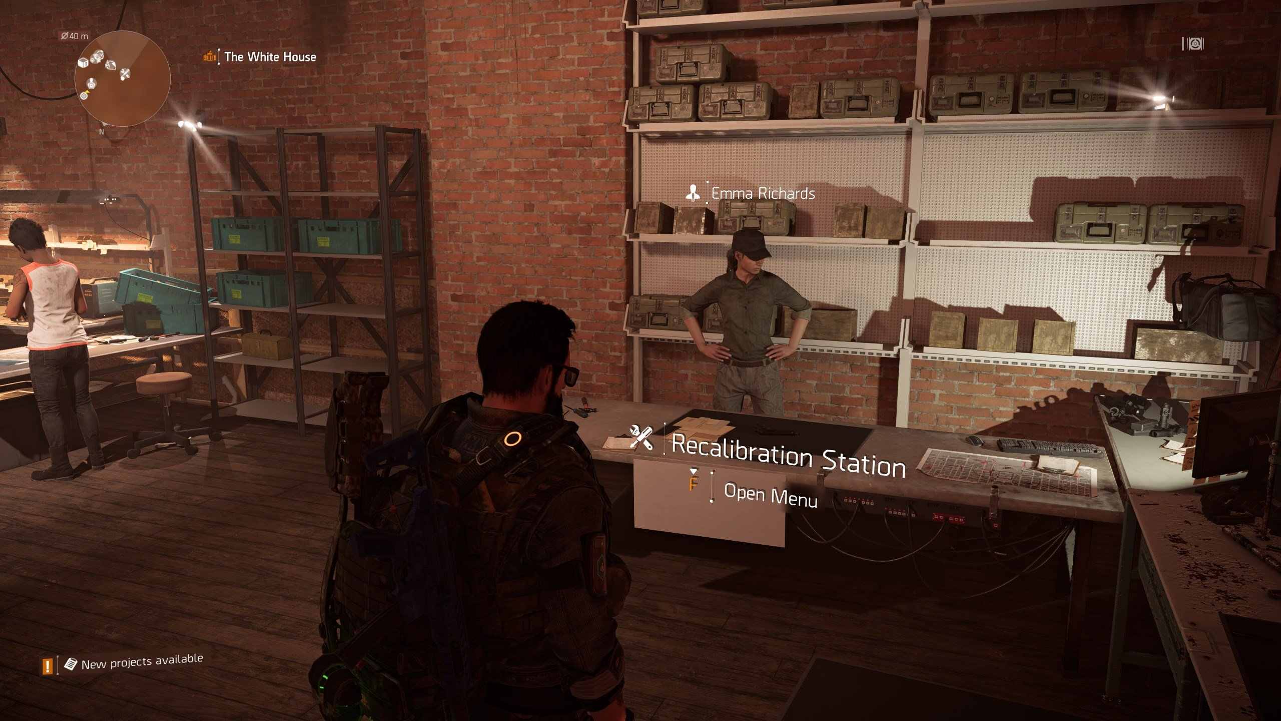 How to use the Recalibration Station in The Division 2 - Recalibration Station location