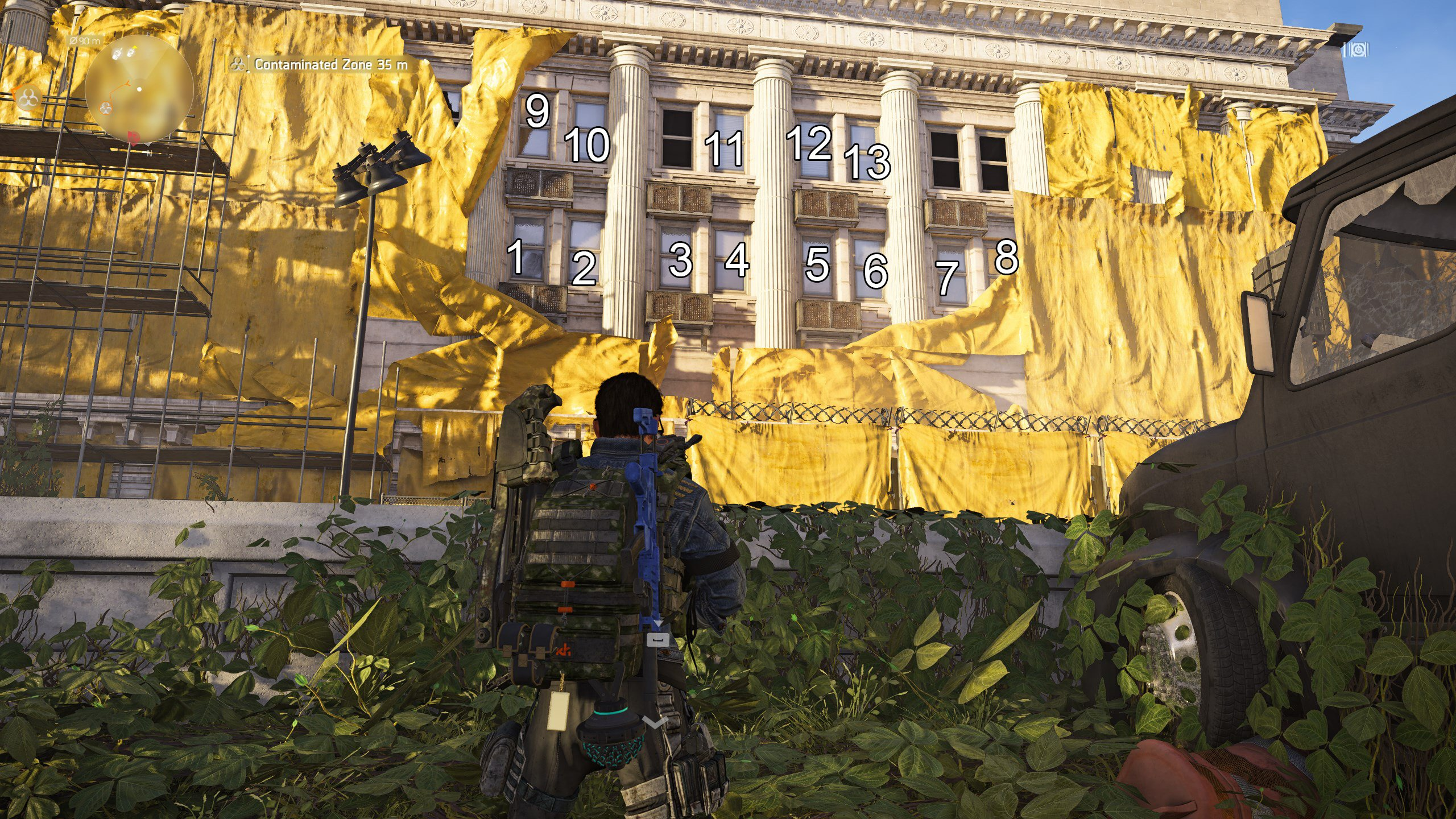 The Division 2 - Specter Mask window puzzle
