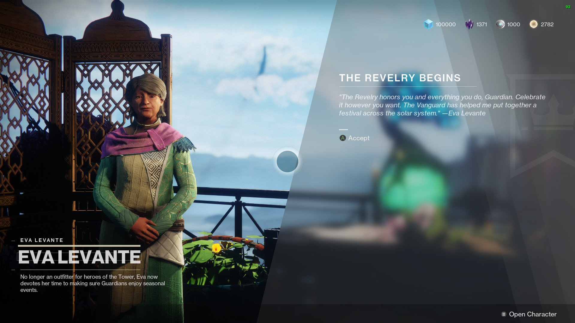 The Revelry Destiny 2