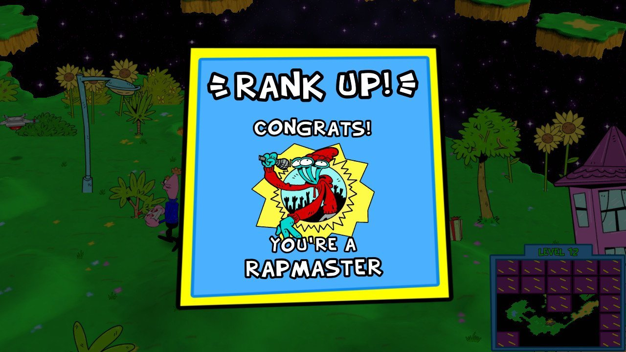 The ranking mechanic definitely is a fun element of ToeJam and Earl: Back in the Groove.