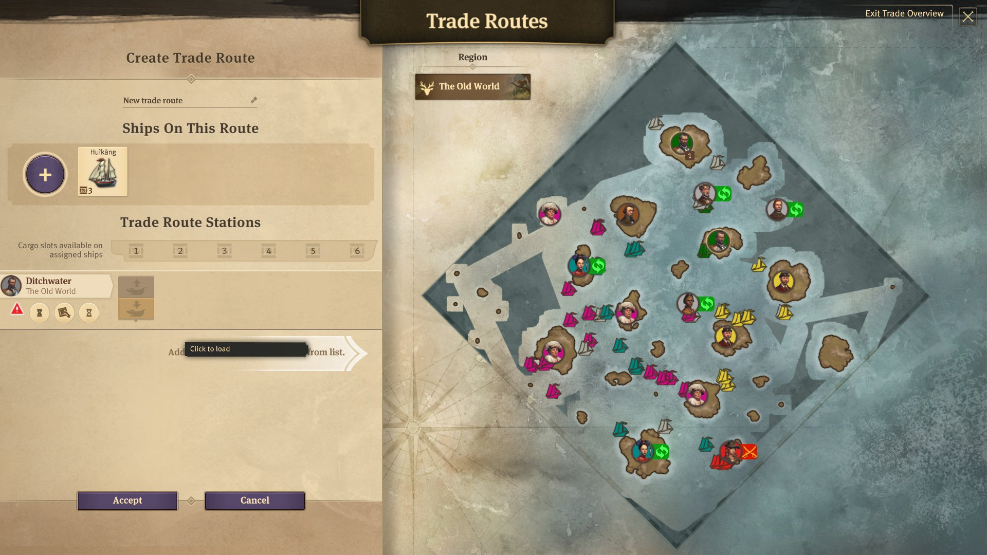 How to set up a trade route in Anno 1800 | Shacknews