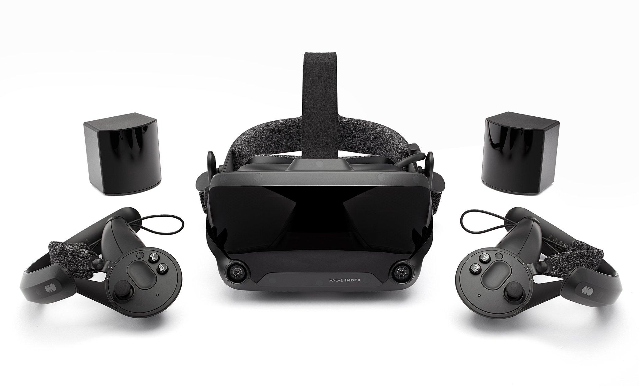 Valve Index VR HMD price, specs, release date, and preorder - Valve Index VR Kit