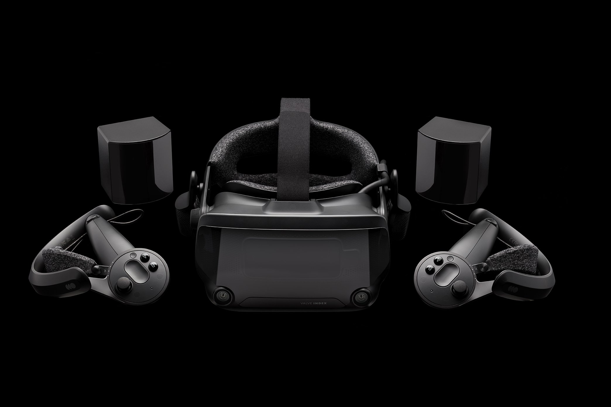 The Valve Index VR HMD with the new Knuckles controllers and sensors costs $999.