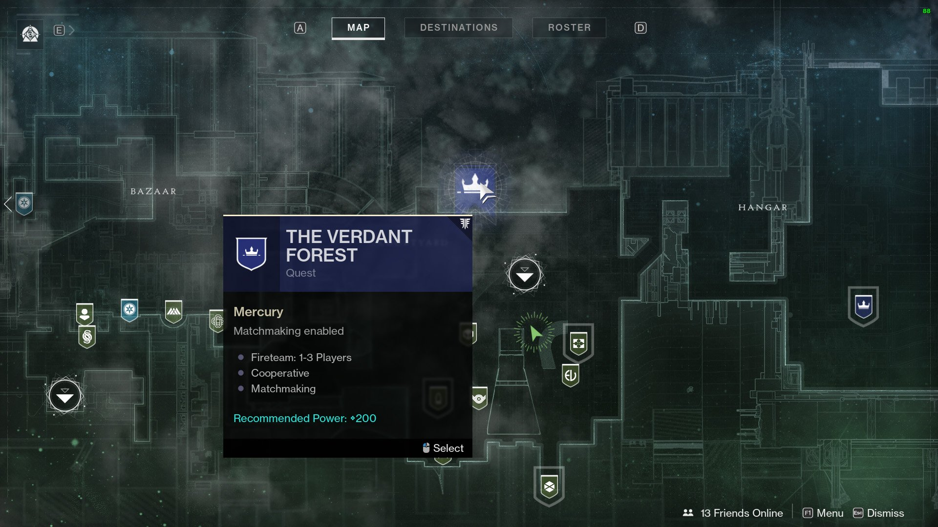 Verdant Forest location Destiny 2