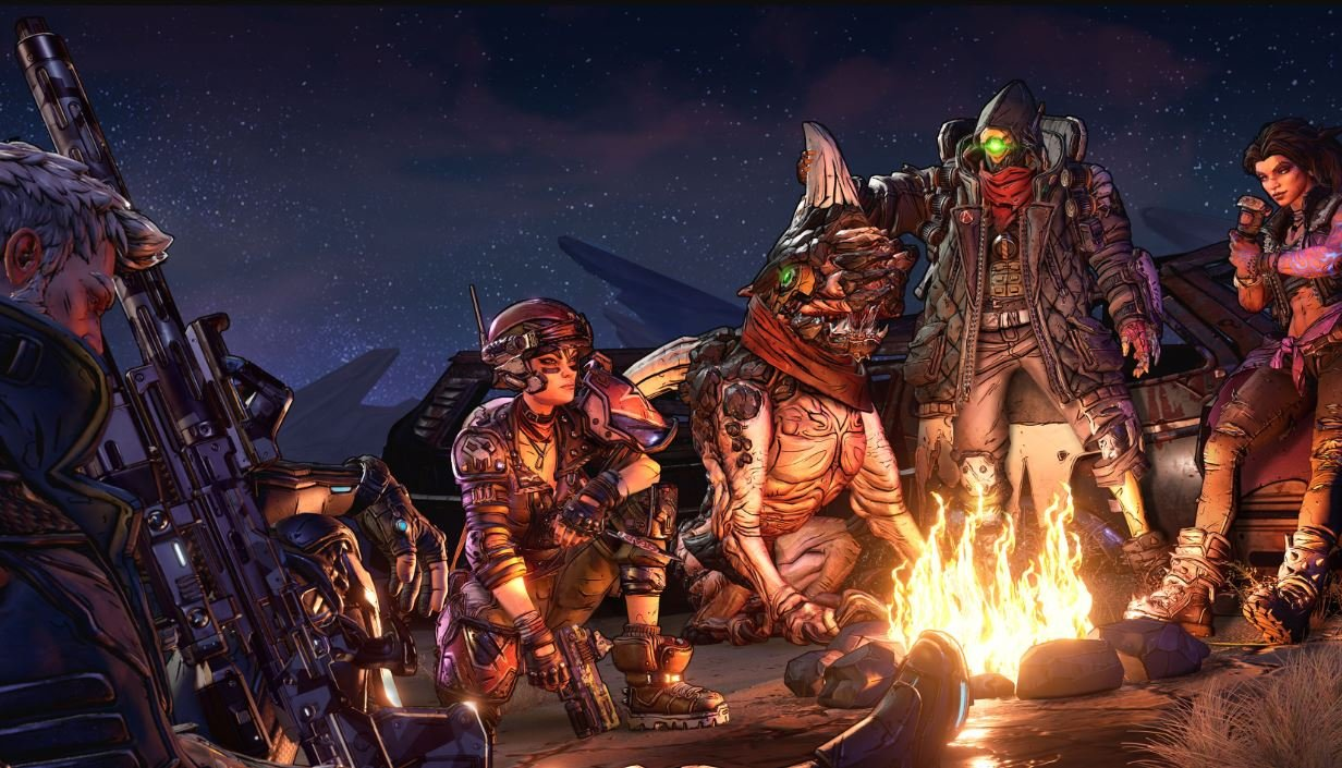 An all-new set of Vault Hunters is waiting in Borderlands 3.