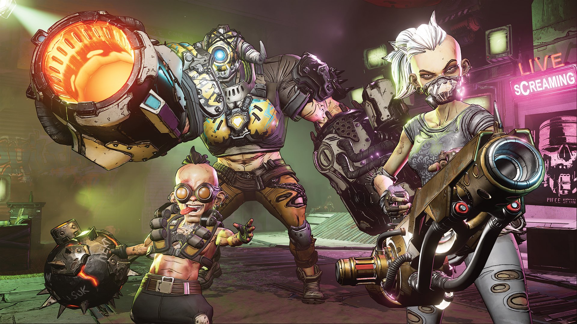 You'll need a billion guns to deal with all the baddies in Borderlands 3.