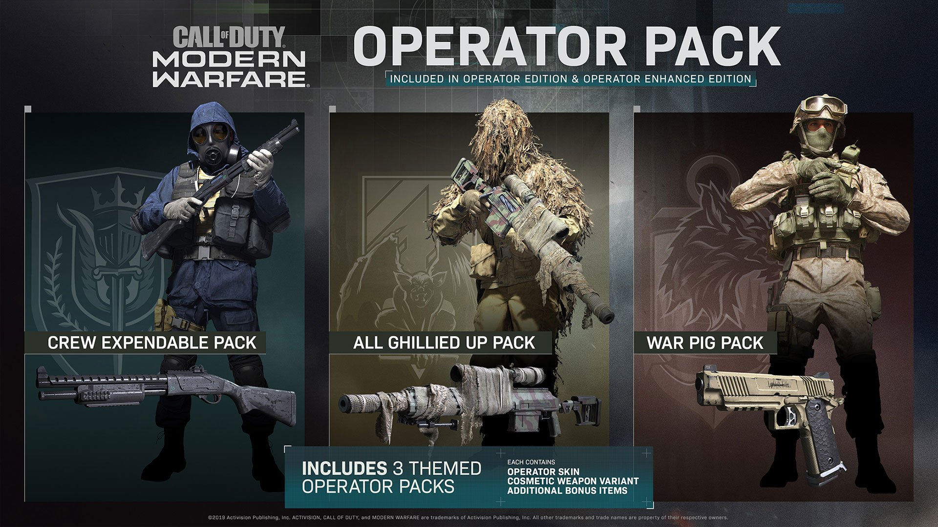 Call of Duty Modern Warfare 2019 Special Operator Edition Precision DLC pack