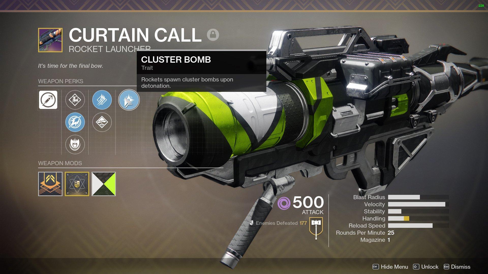 Curtain Call Destiny 2