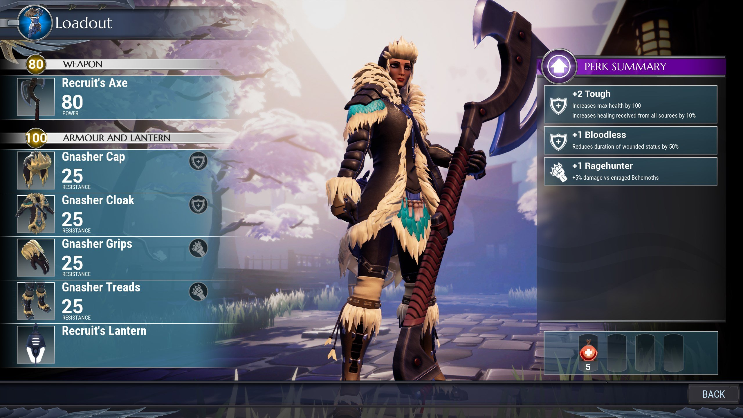 Dauntless weapon guide - Axe