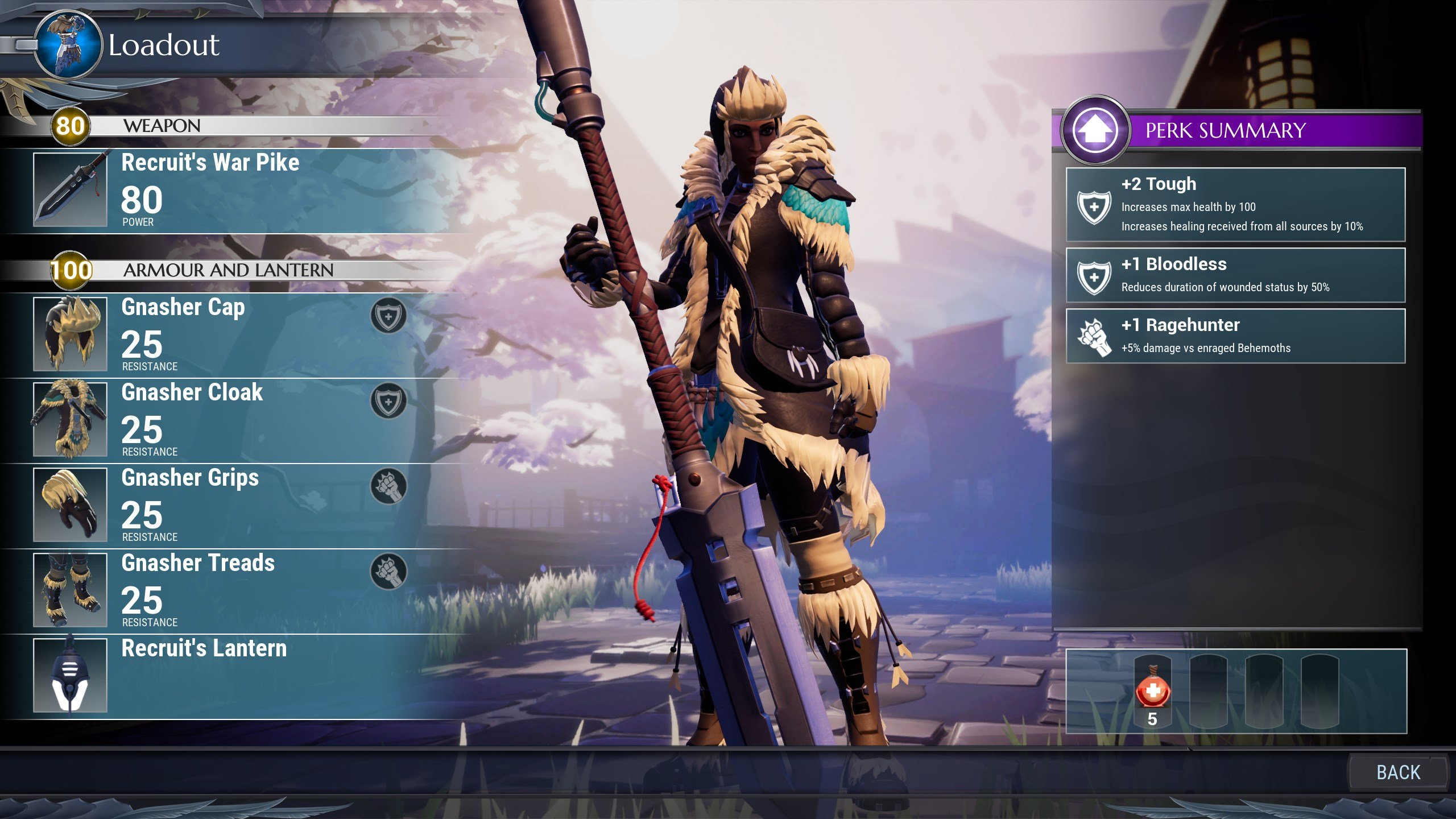 Dauntless weapon guide - War Pike