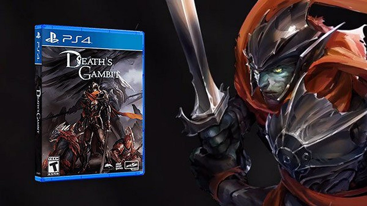 Death's Gambit physical retail release PS4 edition