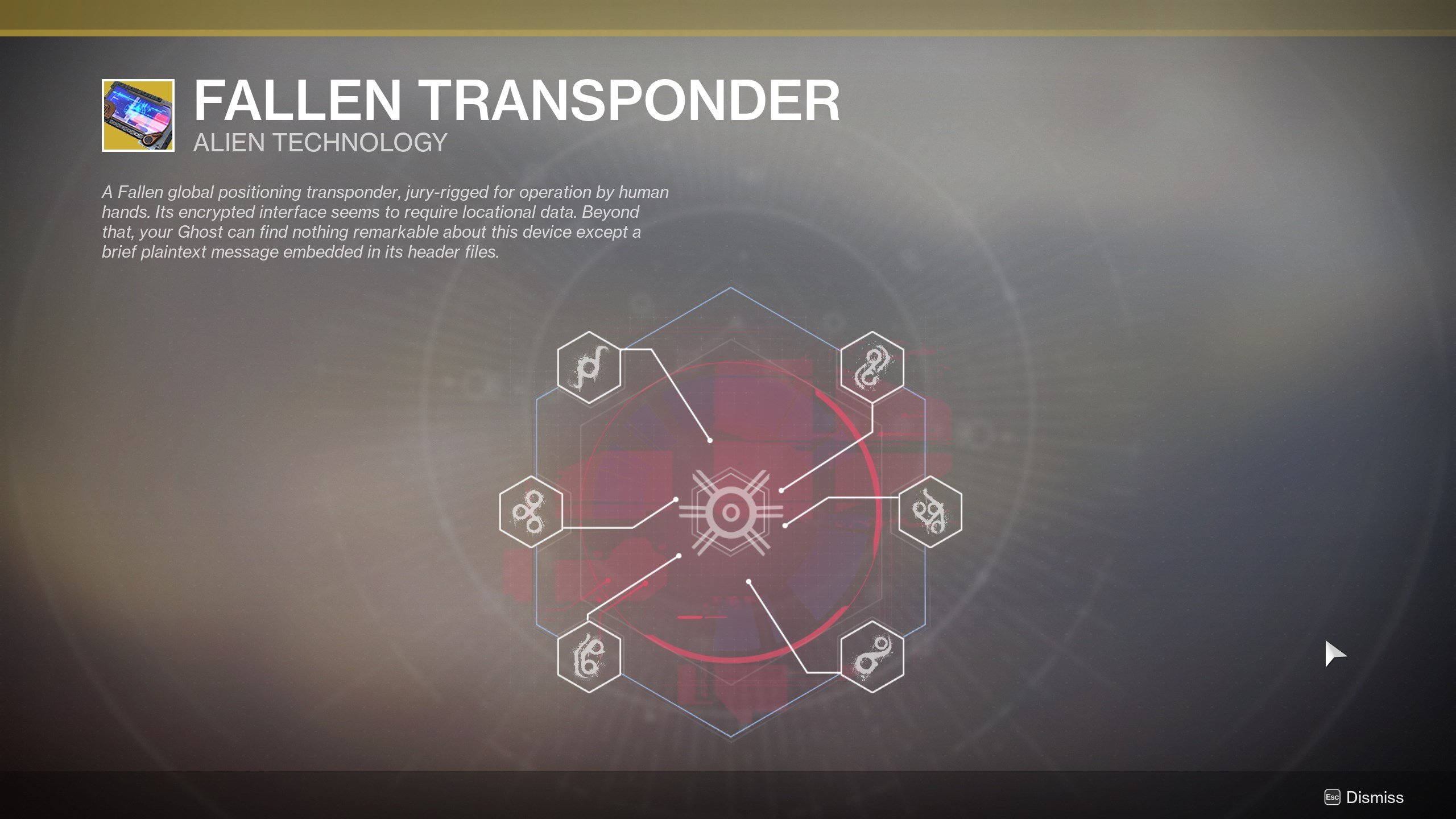 how to complete the Fallen Transponder nodes in Destiny 2