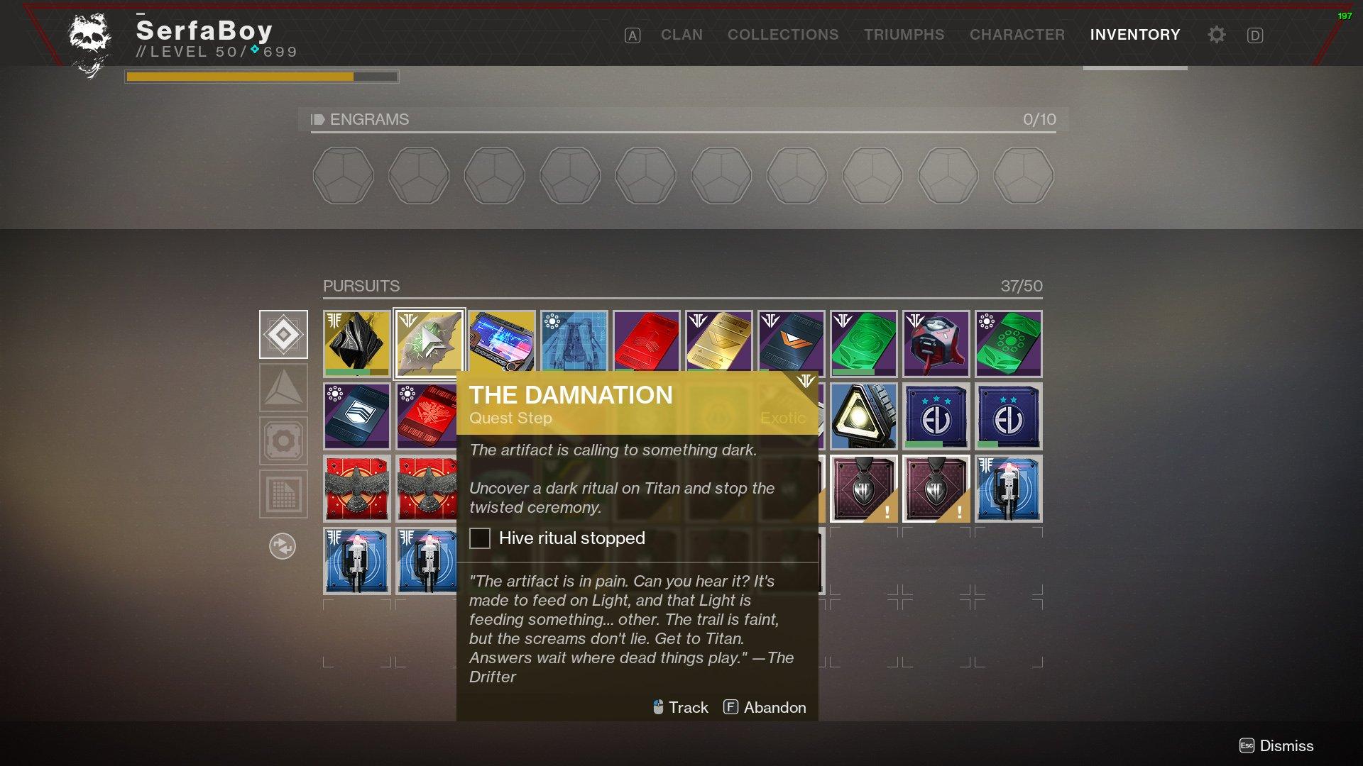 Destiny 2 Exotic quests