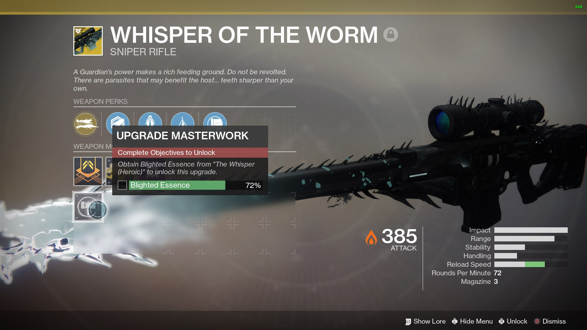 Destiny 2 Whisper of the Worm