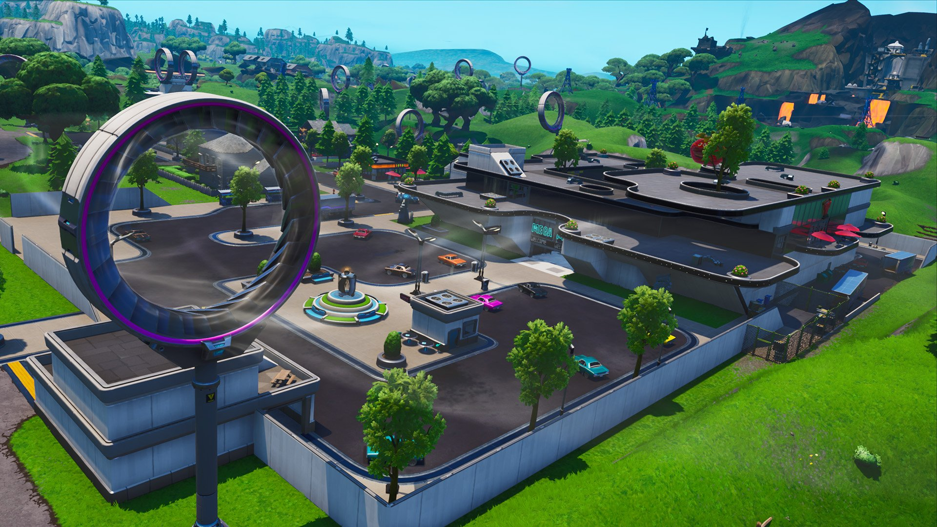 Fortnite Season 9 map changes - Mega Mall