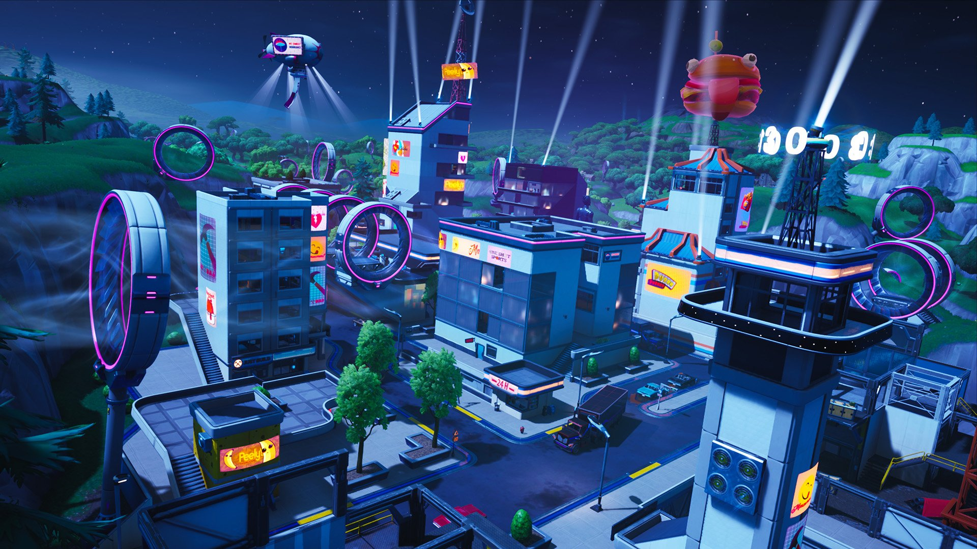 Fortnite Season 9 map changes - Neo Tilted