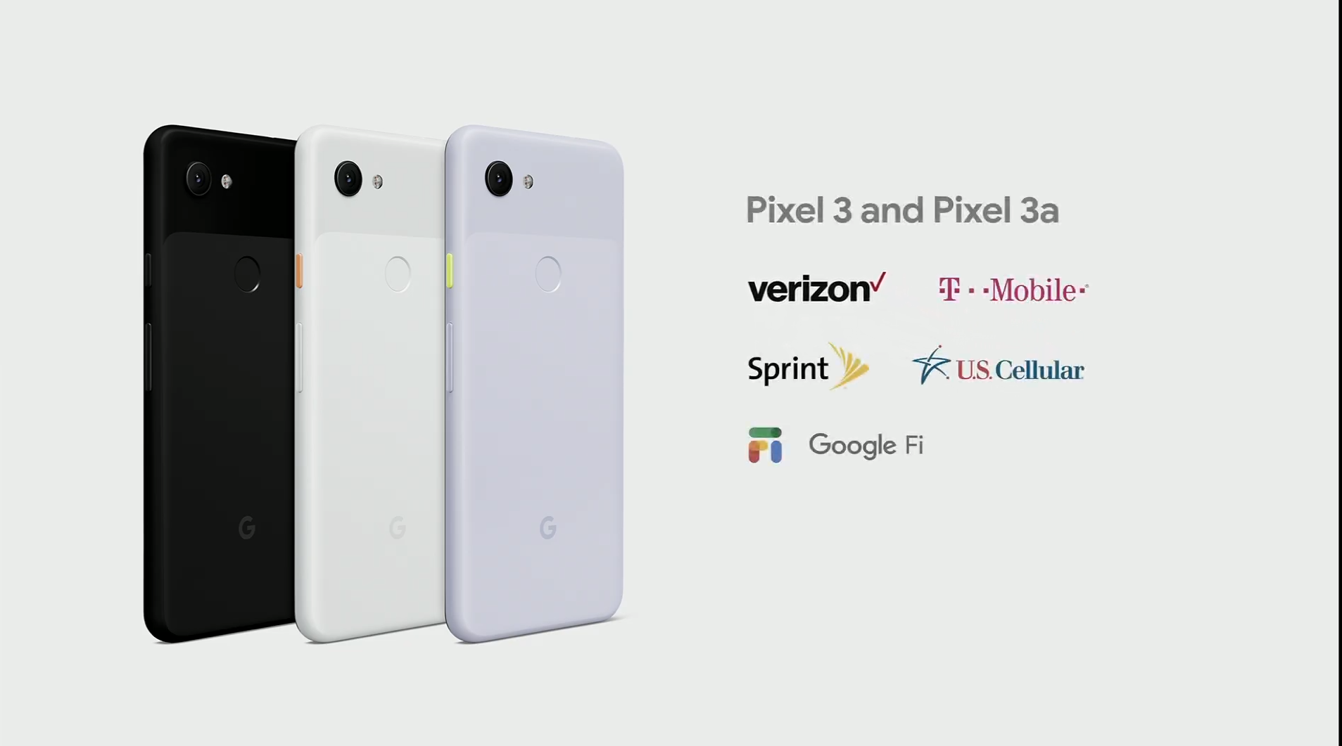 Google Pixel 3a and 3a XL will launch starting at $399