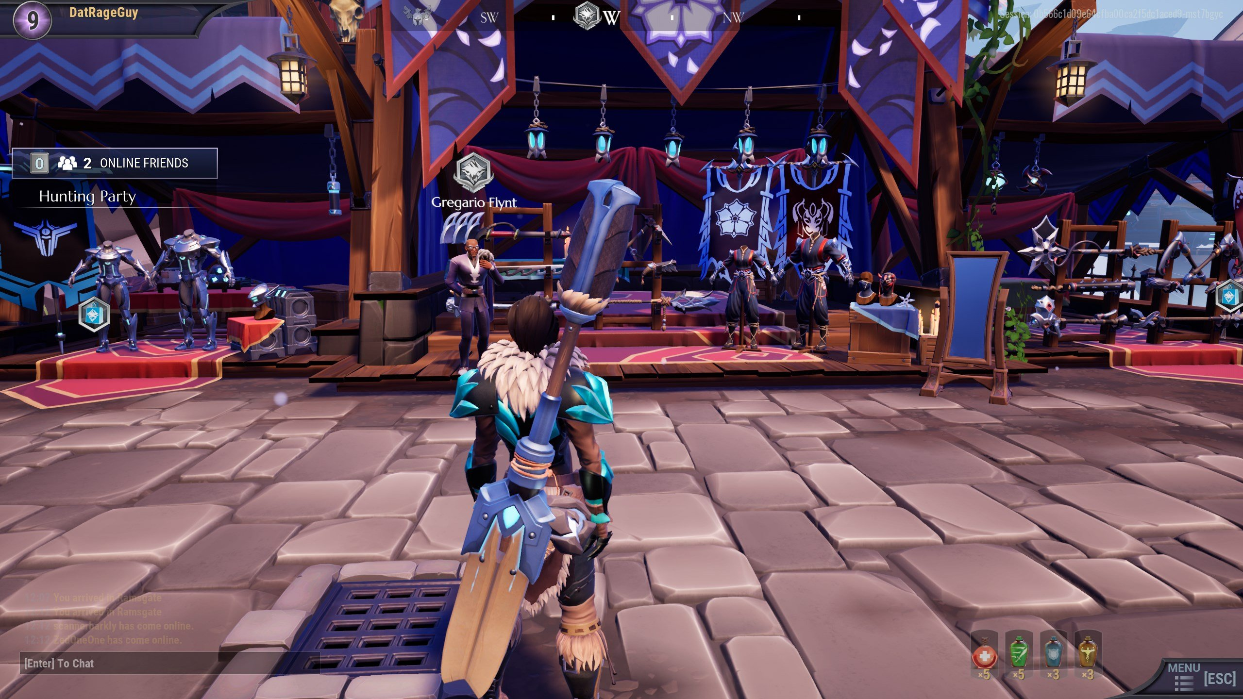 How to change appearance in Dauntless