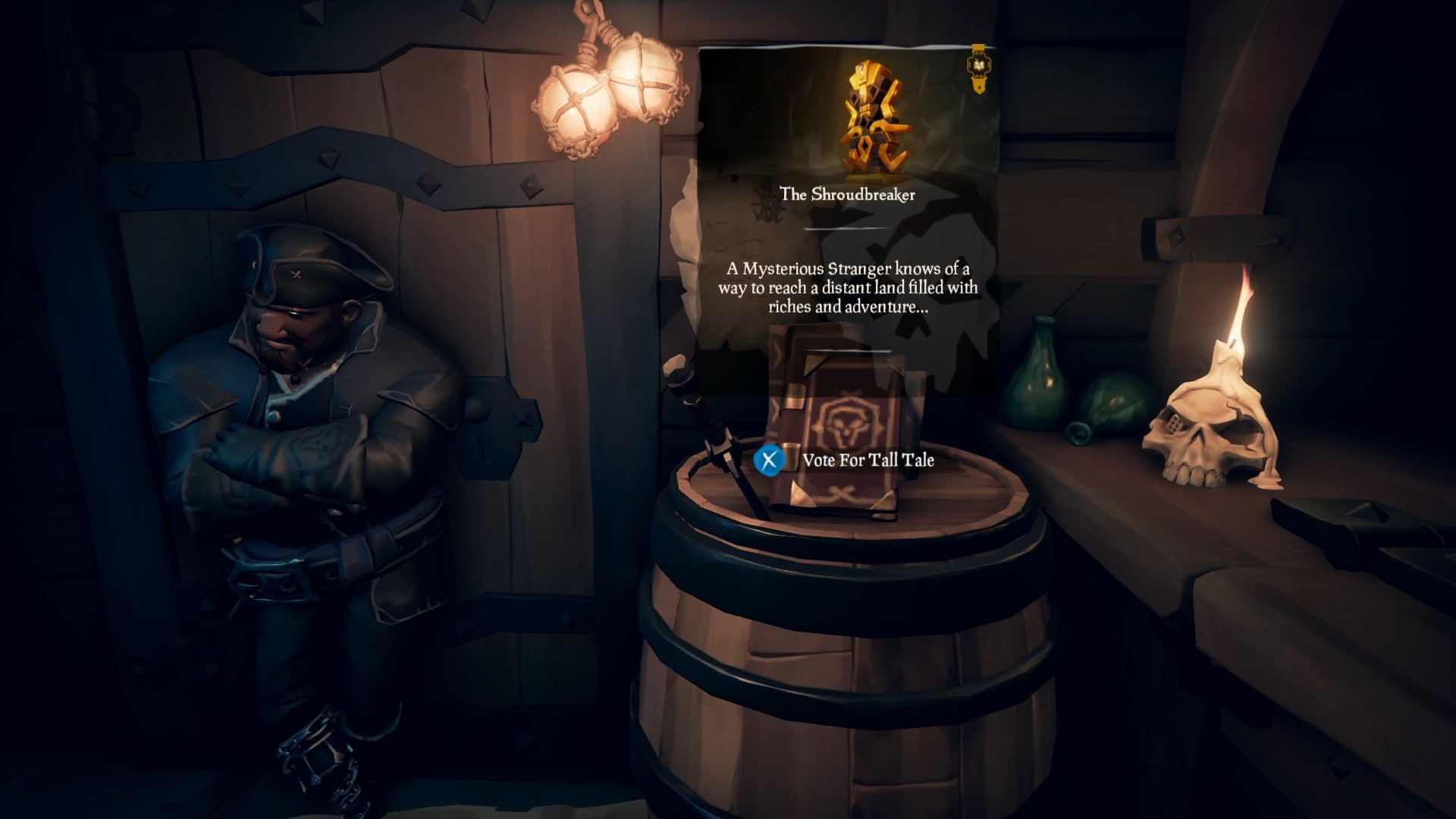 start tall tales sea of thieves